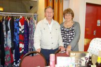 Barry and Judy on the Tombola